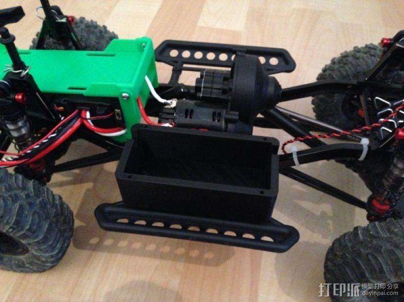 Axial SCX10遥控攀爬车 LED灯控制器 3D模型  图9