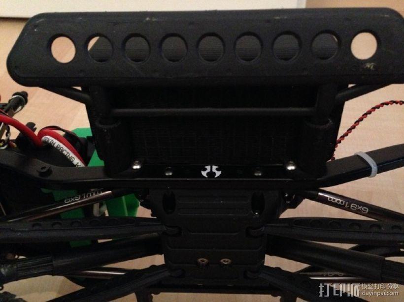 Axial SCX10遥控攀爬车 LED灯控制器 3D模型  图8