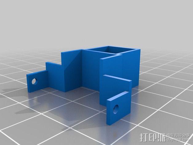 相机支架 3D模型  图2