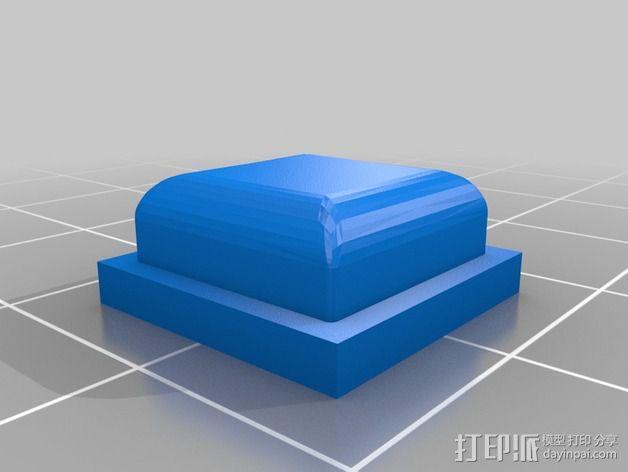 日产汽车 远程启动器 3D模型  图2