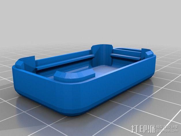 日产汽车 远程启动器 3D模型  图4