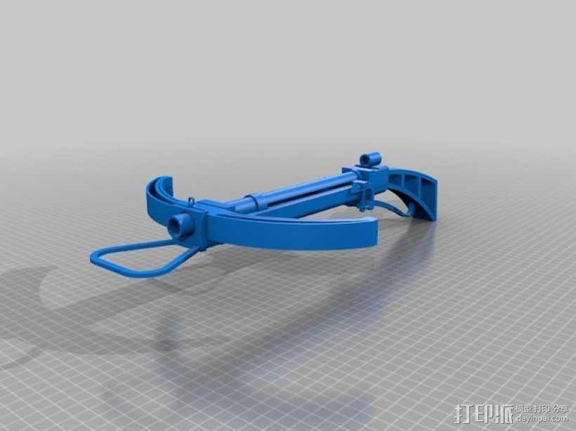 石弩 3D模型  图1