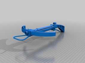 石弩 3D模型