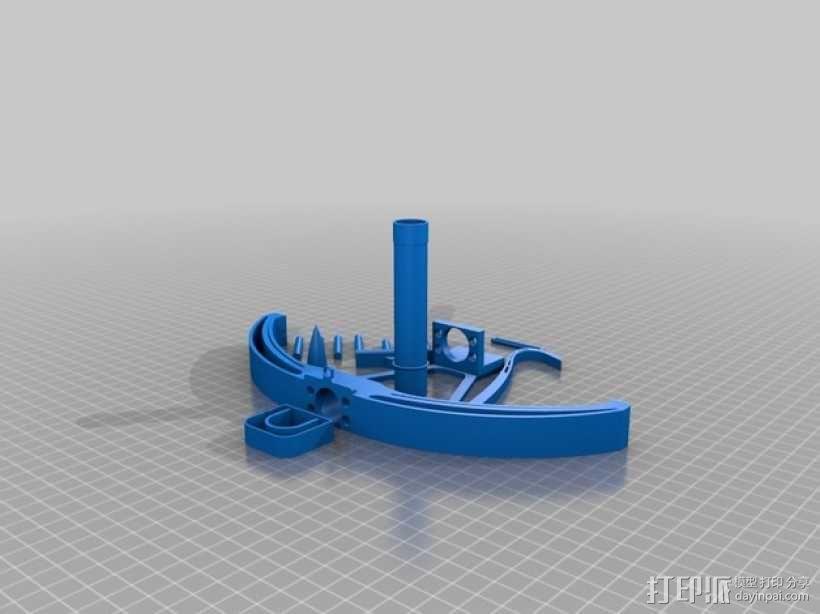 石弩 3D模型  图2