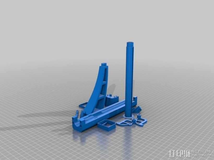 石弩 3D模型  图3