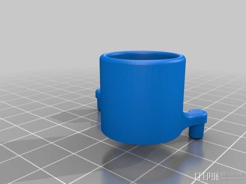 激光灯 外壳 3D模型  图2