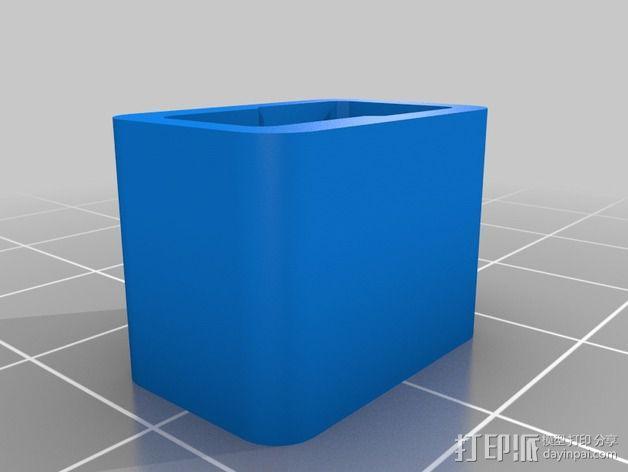 帽盖 3D模型  图2