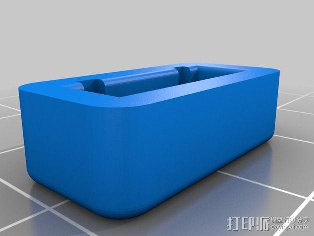 平衡式连接器 帽盖 3D模型  图3