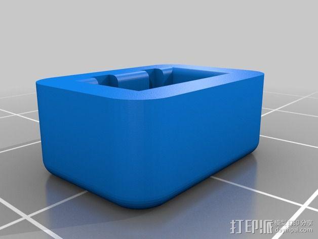 平衡式连接器 帽盖 3D模型  图2