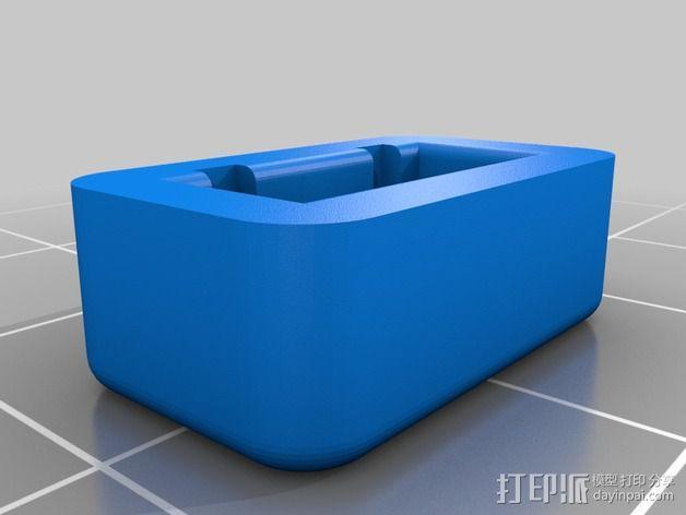 平衡式连接器 帽盖 3D模型  图4