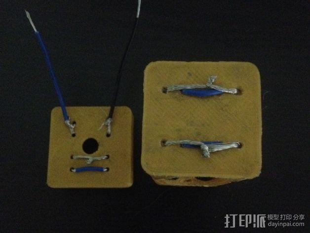 AA电池盒 3D模型  图5