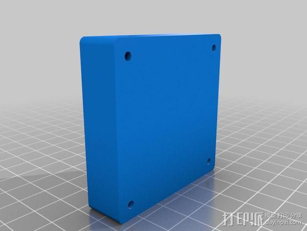 Alexmos 32字节的电路板 外壳 3D模型  图2
