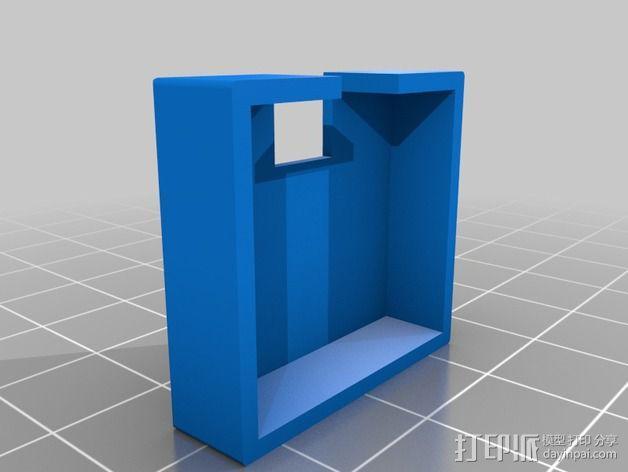 Alexmos 32字节的电路板 外壳 3D模型  图4