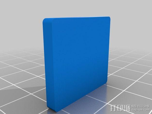 Alexmos 32字节的电路板 外壳 3D模型  图5