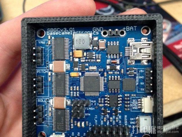 Alexmos 32字节的电路板 外壳 3D模型  图7