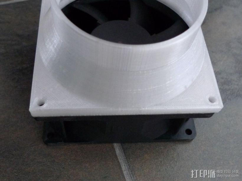 通风导管 3D模型  图4