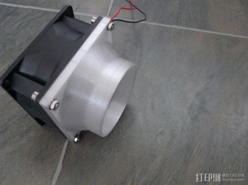 通风导管 3D模型  图6
