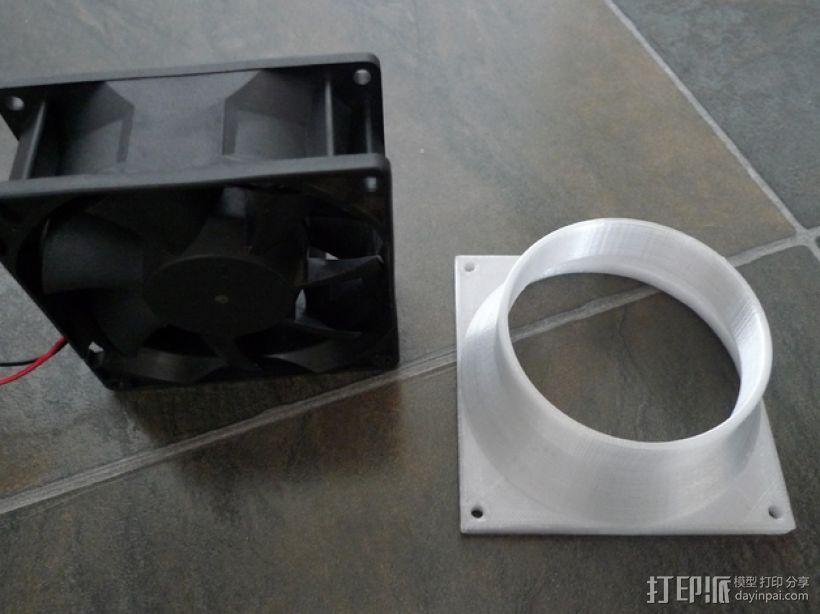 通风导管 3D模型  图7