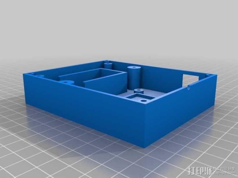 Arduino Uno电路板 面板 3D模型  图1