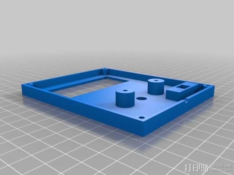Arduino Uno电路板 面板 3D模型  图2