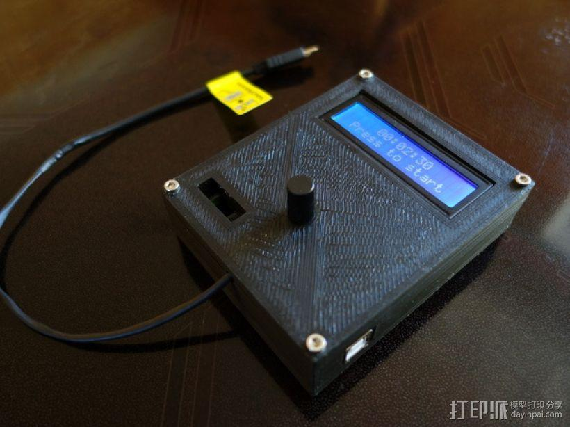 Arduino Uno电路板 面板 3D模型  图3