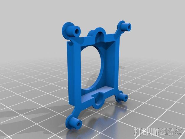 FPV相机外壳  3D模型  图2