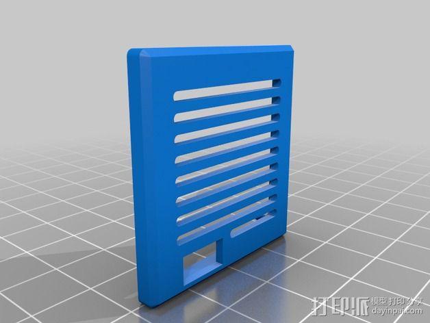 FPV相机外壳  3D模型  图4