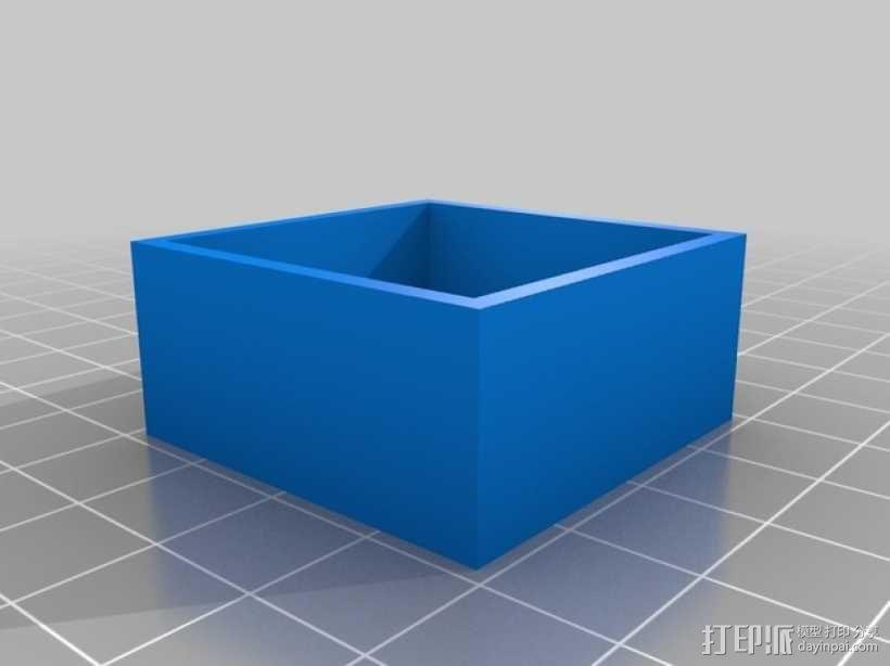 FPV250相机支架 3D模型  图5