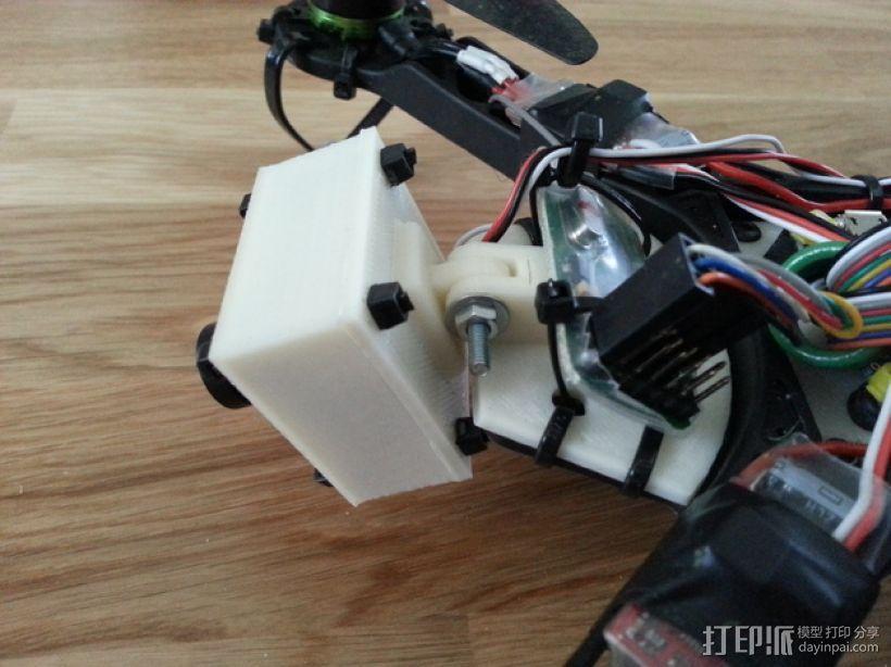 FPV250相机支架 3D模型  图7