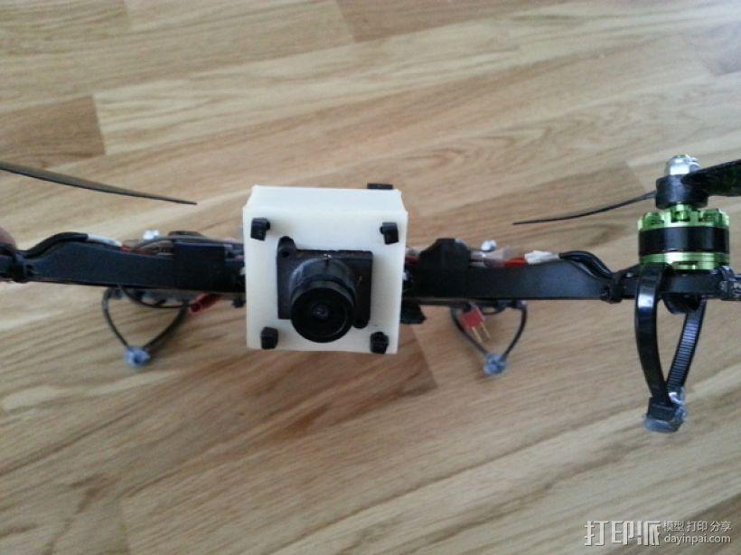 FPV250相机支架 3D模型  图9