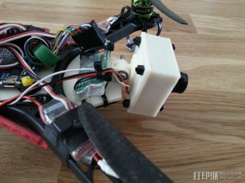 FPV250相机支架 3D模型  图8