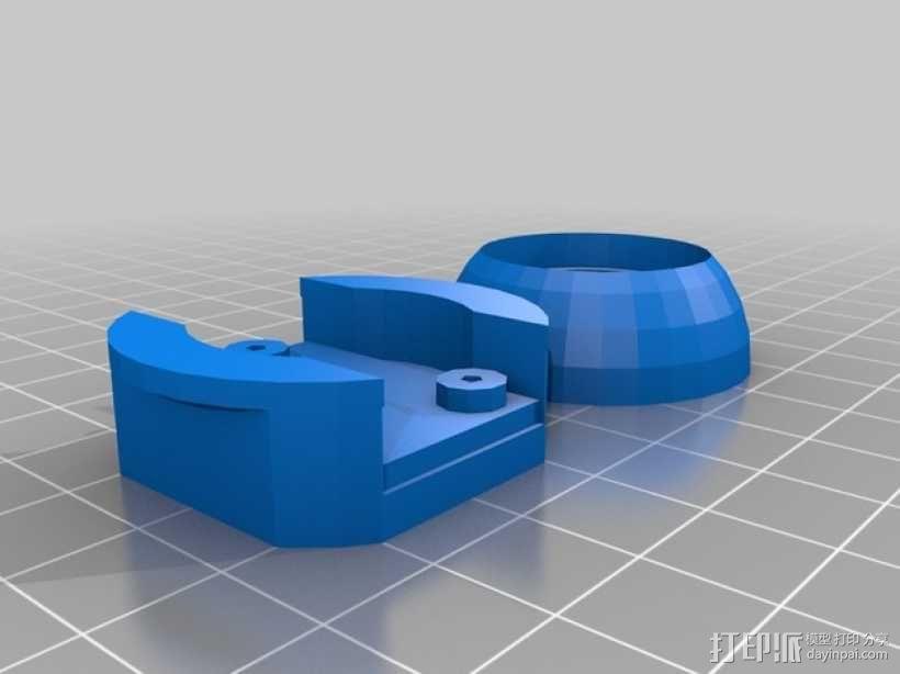 InMoov机器人眼睛 3D模型  图2