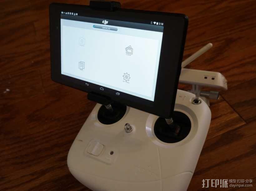 Nexus 7平板电脑支架 3D模型  图3