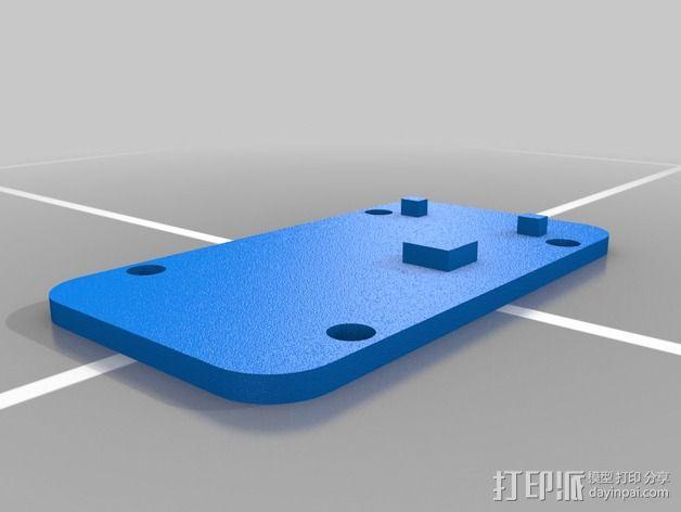 MinimOSD电路板外壳 3D模型  图5