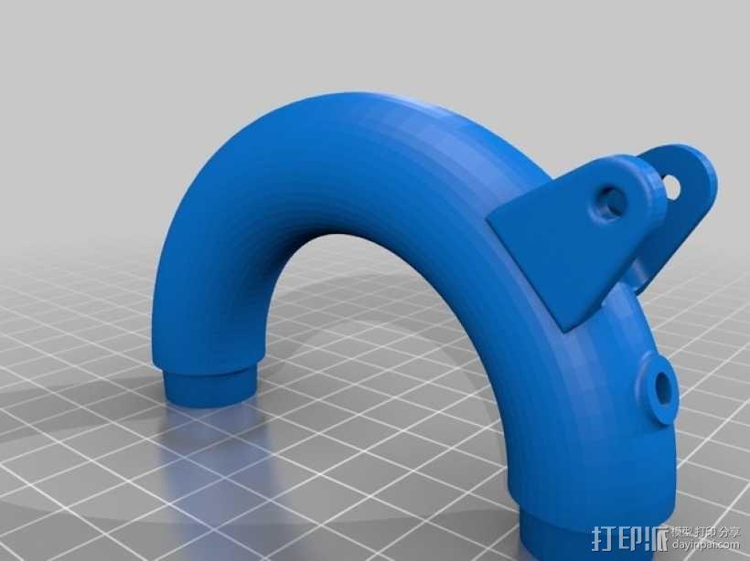 短号 3D模型  图19