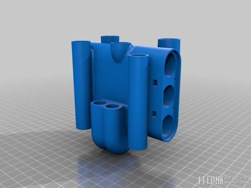 短号 3D模型  图35