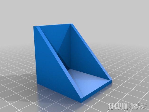 遥控飞机 马达架 3D模型  图2