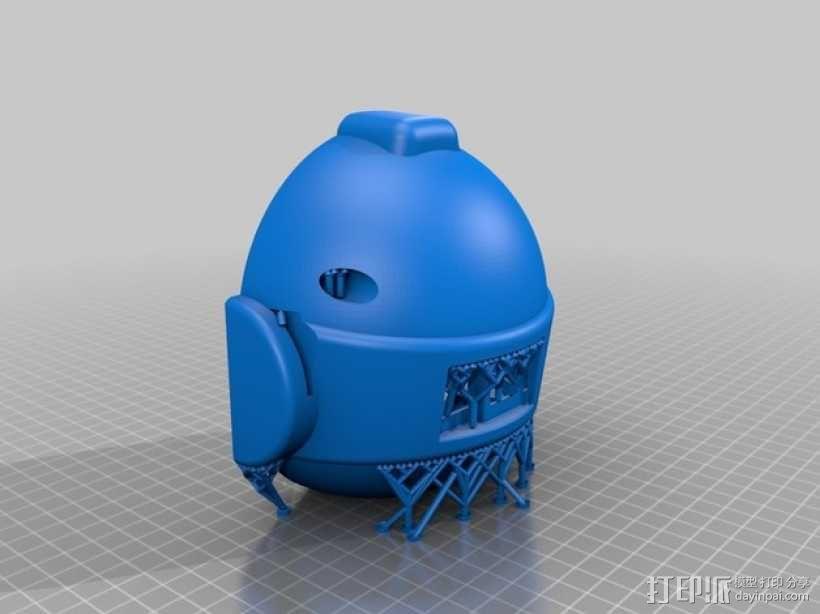 RAPIRO人形机器人 3D模型  图2