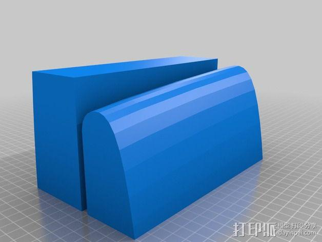 冲浪板 3D模型  图2