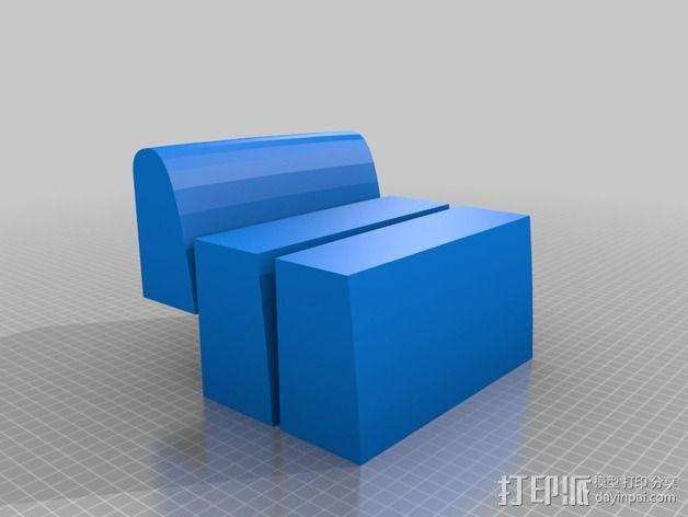 冲浪板 3D模型  图9