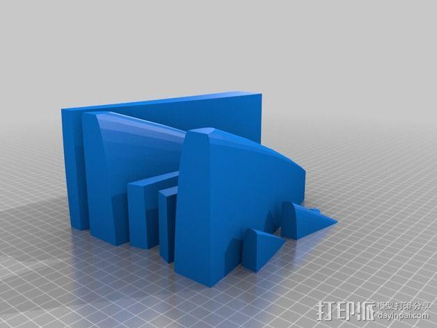 冲浪板 3D模型  图11