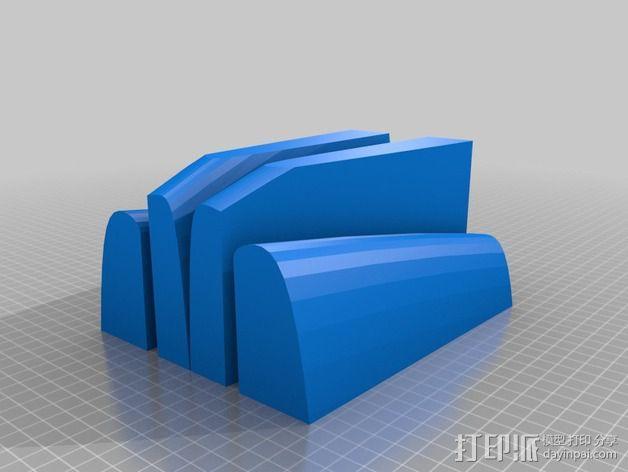 冲浪板 3D模型  图14