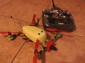FPV多轴飞行器支架 3D模型