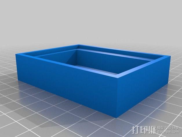 Adafruit NeoPixel发光板 边框 3D模型  图2