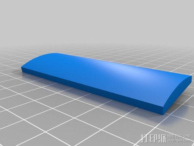 钓鱼绕线轮  3D模型  图5