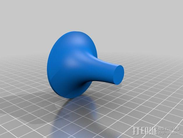 钓鱼绕线轮  3D模型  图13