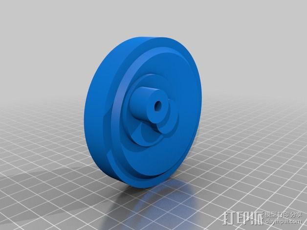 钓鱼绕线轮  3D模型  图12