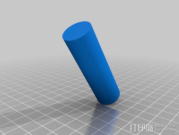 钓鱼绕线轮  3D模型  图11