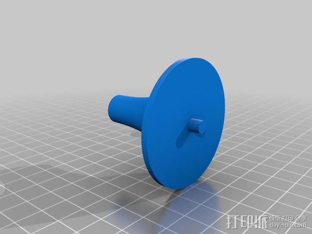 钓鱼绕线轮  3D模型  图14