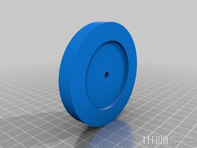 钓鱼绕线轮  3D模型  图15